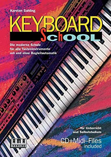 9783932587504: Keyboard School.