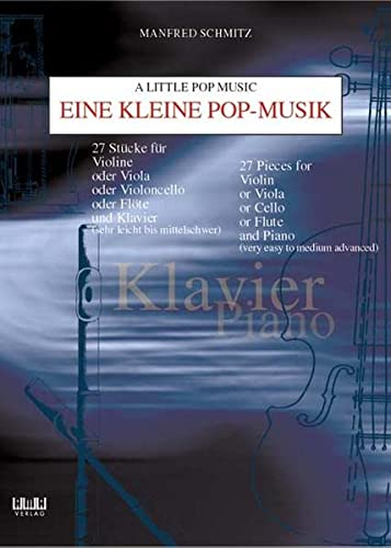 9783932587931: Little Pop Music for Piano