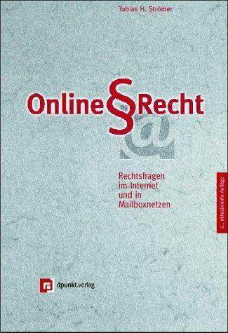 9783932588259: Online-Recht: Rechtsfragen im Internet