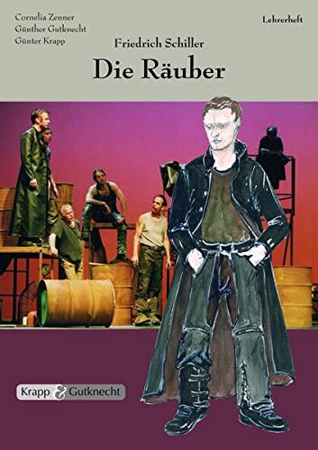 9783932609619: Friedrich Schiller, Die Räuber - Lehrerheft mit Schülerheft