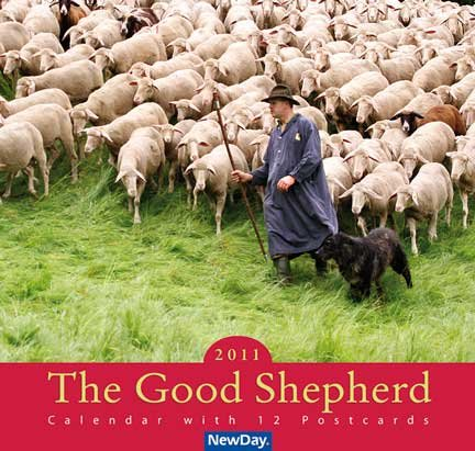 9783932640872: The Good Shepherd: 2004: Calendar with 12 Postcards with Bible Texts
