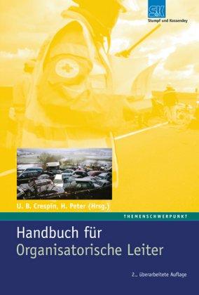 9783932750700: Handbuch für Organisatorische Leiter