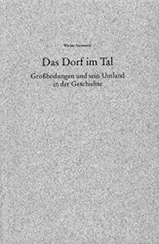 Das Dorf im Tal: Grossbodungen und sein Umland in der Geschichte: Steinmetz, Werner