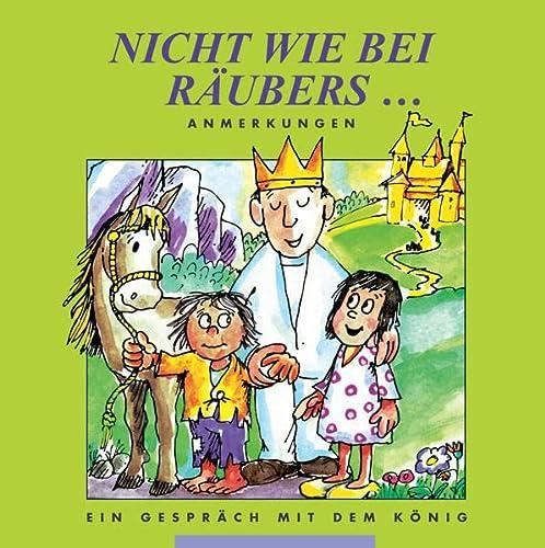9783932842023: Nicht wie bei Räubers . . ., Anmerkungen
