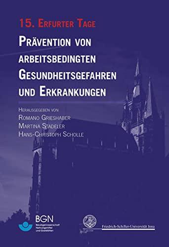 15. Erfurter Tage: Romano Grieshaber