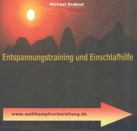 9783932908873: Entspannungstraining und Einschlafhilfe. CD