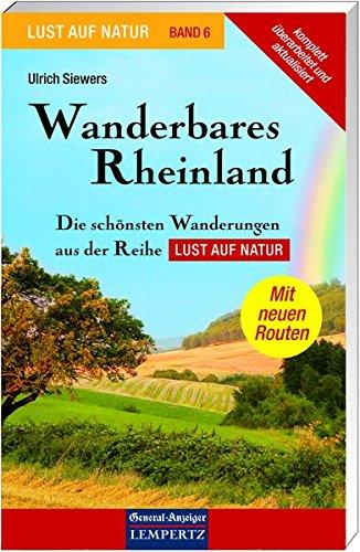 9783933070777: Wanderbares Rheinland: Die schönsten Wanderungen