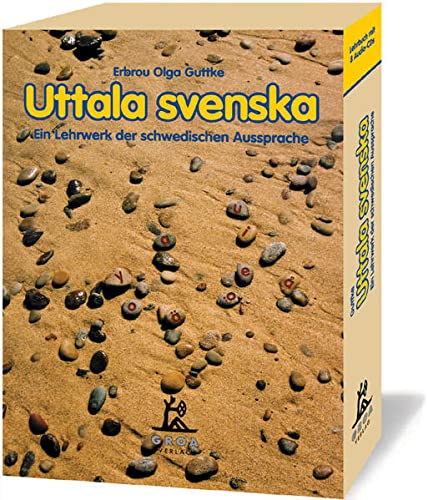 9783933119308: Uttala svenska. 8 CDs mit Begleitbuch: Ein Lehrwerk der schwedischen Aussprache