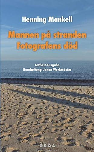 9783933119452: Mannen på stranden / Fotografens död
