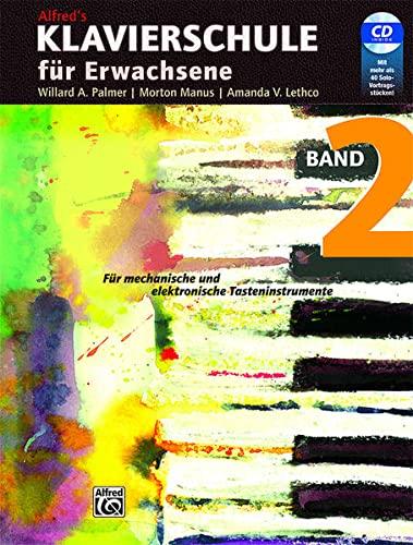 9783933136152: Alfred's Klavierschule für Erwachsene 2: Für mechanische und elektronische Tasteninstrumente