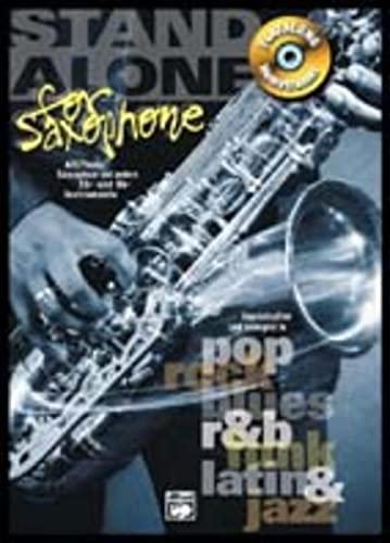 9783933136190: Stand Alone for Saxophone: Playalong Hometrainer Alt/Tenor Saxophon und andere Eb- und Bb-Instrumente