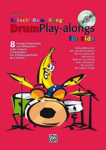 9783933136367: Kräsch! Bum! Bäng! Drum Playalongs für Kids