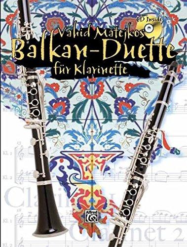 9783933136657: Balkan-Duette Fur Klarinette V. Matejkos CD