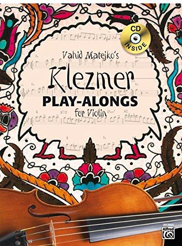 9783933136893: Vahid Matejko's Klezmer Play-Alongs for Violin: Book & CD