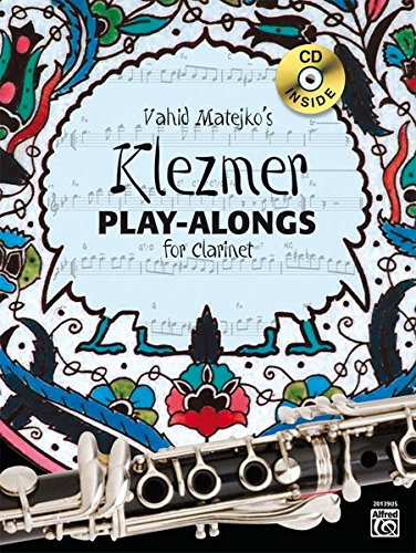 9783933136909: Vahid Matejkos Klezmer Play-Alongs for Clarinet (Book & CD)