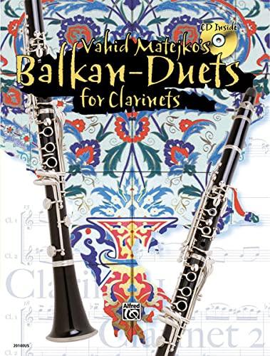 9783933136916: Vahid Matejkos Balkan Duets for Clarinets (Book & CD)