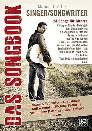 9783933136930: Singer/Songwriter - Das Songbook: 24 Songs für Gitarre