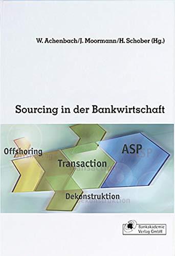 9783933165961: Sourcing in der Bankwirtschaft