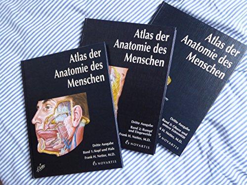 9783933185631: Netter: Atlas der Anatomie des Menschen (3 Bände)