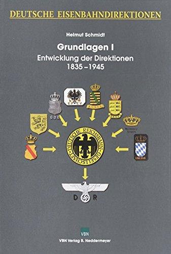 9783933254856: Deutsche Eisenbahndirektionen. Grundlagen 1