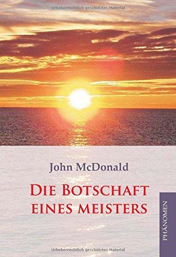 9783933321572: Die Botschaft eines Meisters (German Edition)