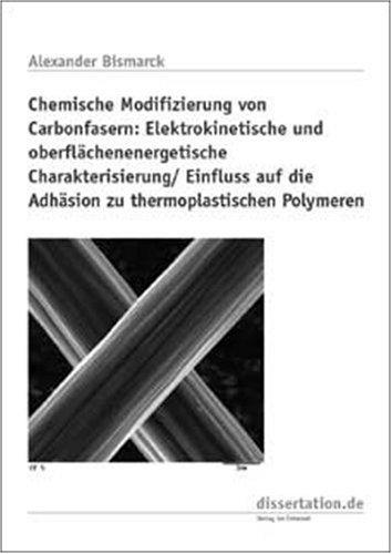 9783933342997: Chemische Modifizierung von Carbonfasern: Elektrokinetische und oberflächenenergetische Charakterisierung /Einfluss auf die Adhäsion zu thermoplastischen Polymeren (Livre en allemand)