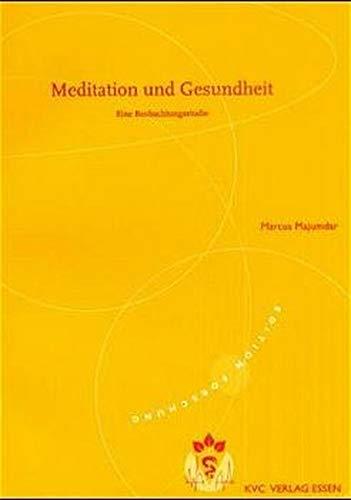 9783933351142: Meditation und Gesundheit
