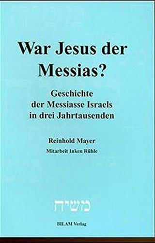 9783933373014: War Jesus der Messias?