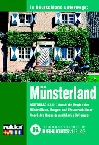 9783933385239: In Deutschland unterwegs: Münsterland: Motorradtouren durch die Region der Windmühlen, Burgen und Wasserschlösser