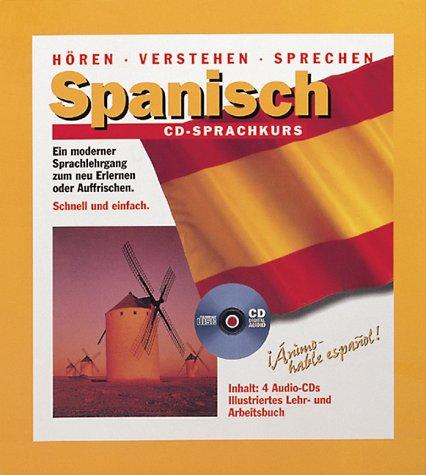 9783933468123: Spanisch CD-Sprachkurs, 4 CD-Audio m. Lehr-/Arbeitsbuch