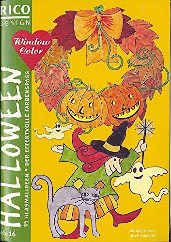 9783933554567: RICO Design, Nr.16, Window Color, Halloween