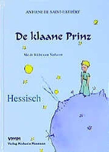 9783933575012: De Klaane Prinz Little Prince Hessian