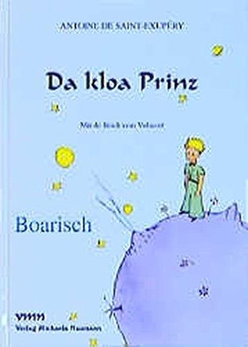 9783933575050: Da Kloa Prinz Little Prince Bavarian