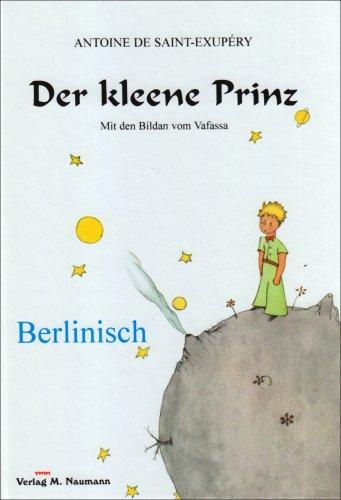 9783933575845: Der kleene Prinz.