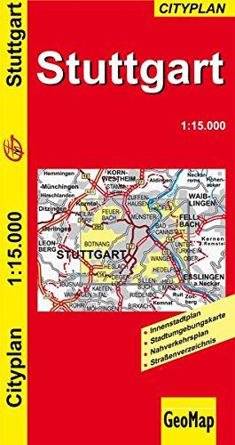 9783933671721: Stuttgart - Stadtplan