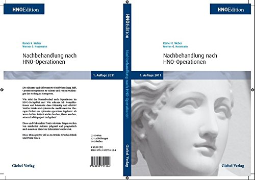 9783933755124: Nachbehandlung nach HNO-Operationen: HNO Edition