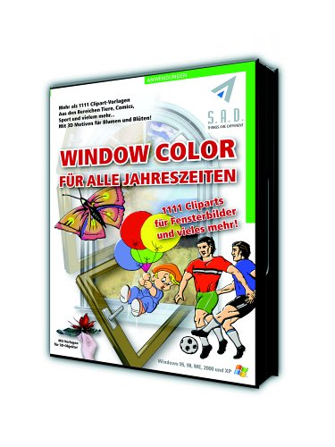 9783933780768: WINDOW COLOR 3D