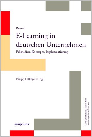 9783933814814: Report E-Learning in deutschen Unternehmen.