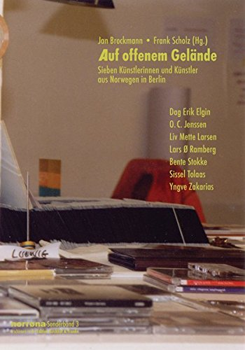 9783933816177: Auf offenem Gelände: sieben Künstlerinnen und Künstler aus Norwegen in Berlin (Norrøna)