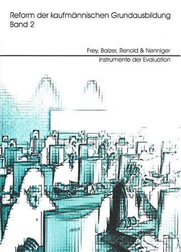 9783933967480: Reform der kaufmännischen Grundausbildung, Bd.2, Instrumente der Evaluation