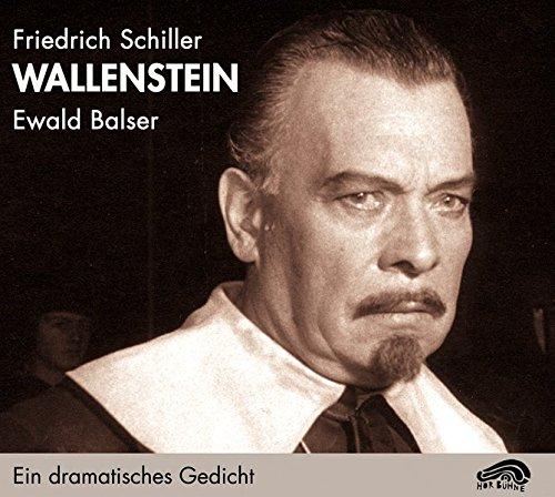9783934012226: Wallenstein. 4 CDs: Ein dramatisches Gedicht. Die Piccolomini und Wallensteins Tod