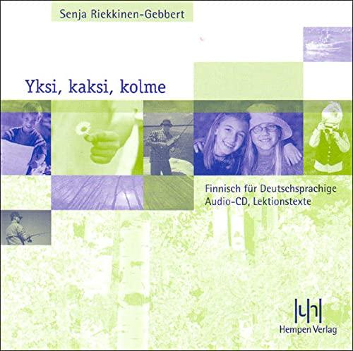 9783934106253: Yksi, kaksi, kolme; Teil 1. Audio-CD: Finnisch für Deutschsprachige
