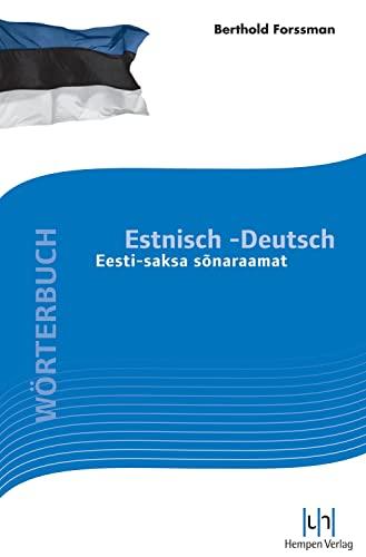 9783934106369: Wörterbuch Estnisch-Deutsch: Eesti saksa sonaraamat