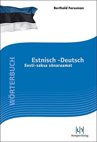 9783934106369: W�rterbuch Estnisch-Deutsch: Eesti saksa sonaraamat