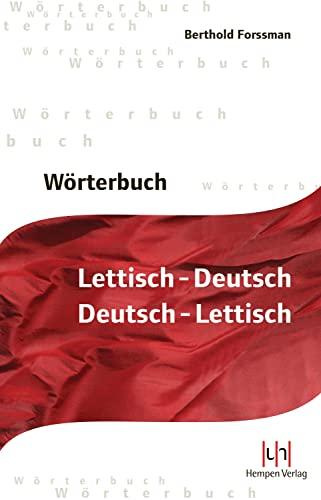 9783934106581: Wörterbuch Lettisch-Deutsch, Deutsch-Lettisch