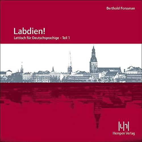 Labdien! Audio-CD: Lettisch für Deutschsprachige