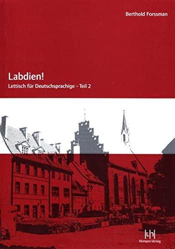 Labdien! Teil 2 Lehrbuch - Forssman, Berthold