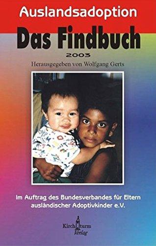 9783934117068: Auslandsadoption. Das Findbuch 2003.