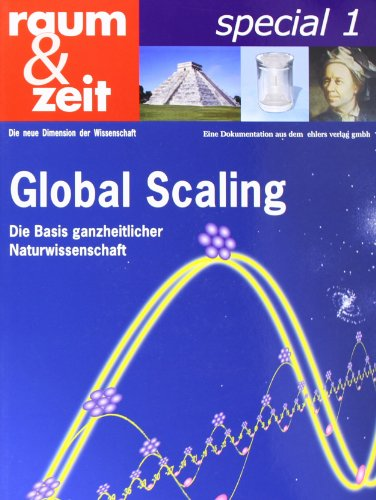 9783934196667: raum & zeit special, Bd.1 : Global Scaling