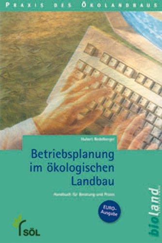 9783934239074: Betriebsplanung im �kologischen Landbau.